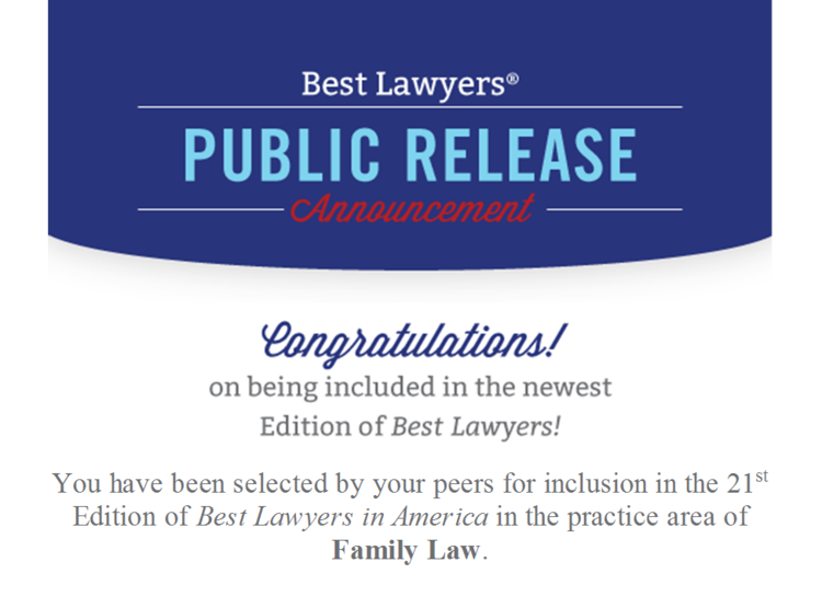 Best Lawyers Announcement